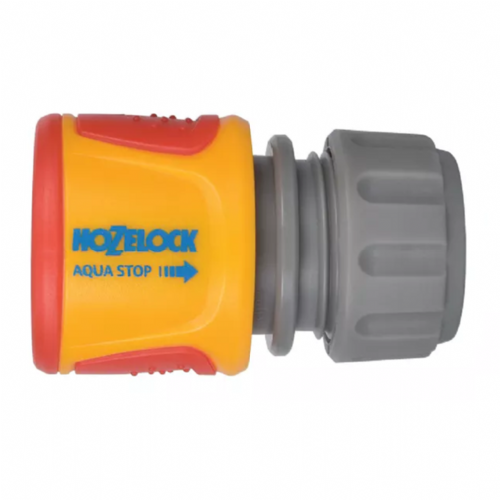 "Hozelock 2075 Soft Touch Aquastop Hose Connector 12.5mm - 15mm (1/2"" - 5/8"")"